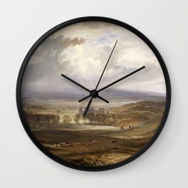 William Turner - Raby Castle, the Seat of the Earl of Darlington Wall Clock