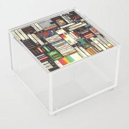 Cassettes, VHS & Games Acrylic Box