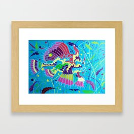 L'Arlecchino dei Sargassi (The Sargassumfish) Framed Art Print