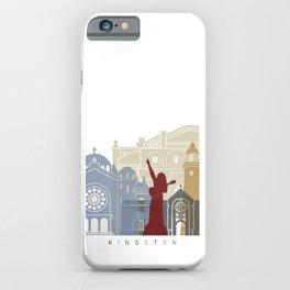 Kingston skyline poster iPhone Case
