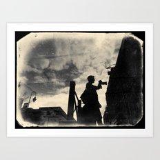 The photographer Art Print