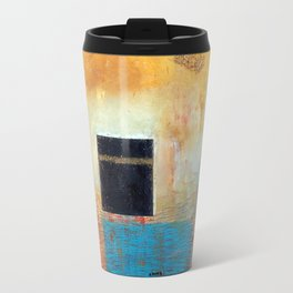 Of the Earth 1 by Nadia J Art Travel Mug