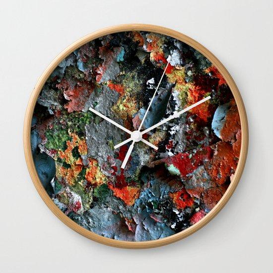 Graffiti Detail Wall Clock