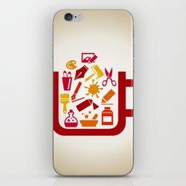 Art a cup iPhone Skin
