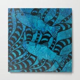 Here, Fishy Fishy Metal Print
