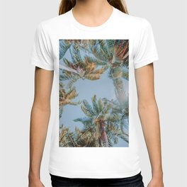 palm trees ix T-shirt