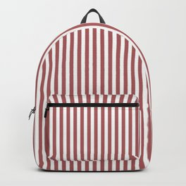 Dusty Cedar Stripes Backpack