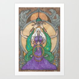 Rite Of Spring Art Print