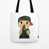 liam payne Tote Bags featuring Liam by clevernessofyou