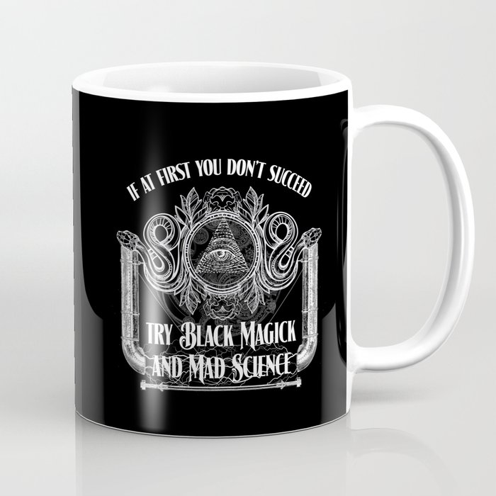 Black Magick and Mad Science Coffee Mug