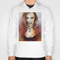 blood Hoodies featuring Oh My Jessica - True Blood by Fresh Doodle - JP Valderrama