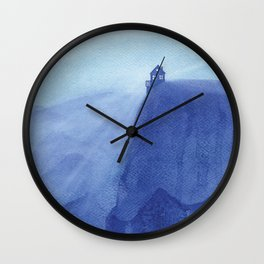 House on the rock, blue mountains Wall Clock