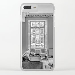 New Town Flat Clear iPhone Case