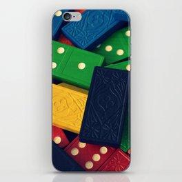 Dominoes 2 iPhone Skin