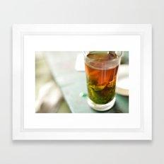 Tea 4 Joy Framed Art Print