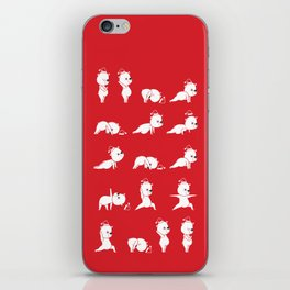 Yoga Bear - Polar Bear iPhone Skin