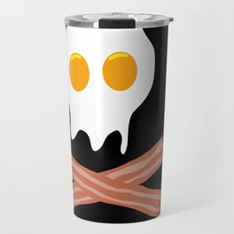 Eggs Bacon Skull Travel Mug