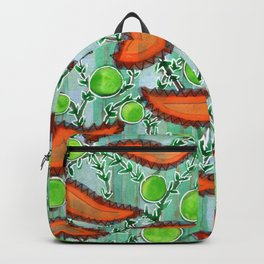 Hot Peppers and Crisp Peas Pattern Backpack