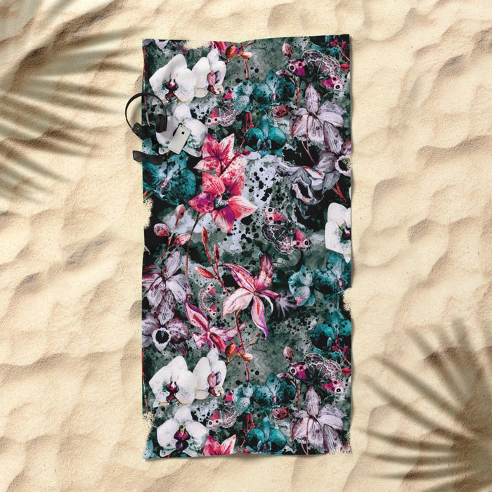 Butterfly Valley Beach Towel