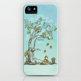 I Hear Music in Everything iPhone Case