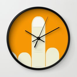MiddleFinger Wall Clock