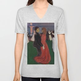 Edvard Munch - The Dance of Life Unisex V-Neck