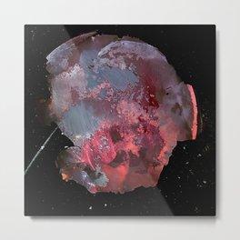 Pink planet Metal Print