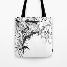 Mr Lovercraft's monsters Tote Bag