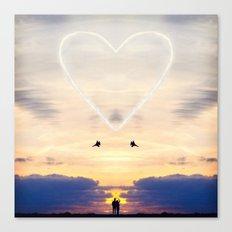 A Love Larger Than Life Canvas Print