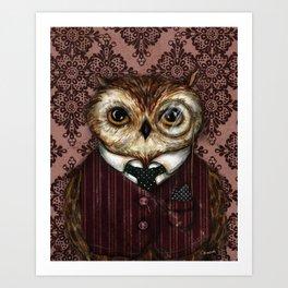 Peter Bird Art Print