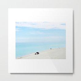 Plaj 2. Metal Print