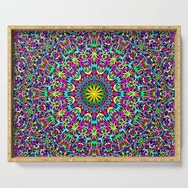 Bohemian Mandala Ornament Serving Tray