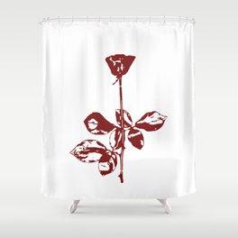 Violator Rose DM Shower Curtain