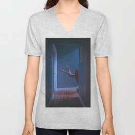 there's a light in the attic Unisex V-Neck