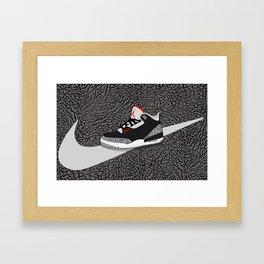 Cement Framed Art Print