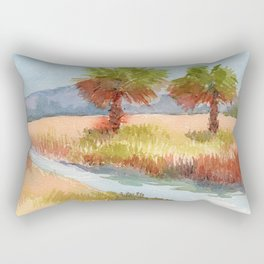 Ranch Palms Rectangular Pillow