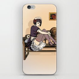 Studio Shoot (Maid Version) iPhone Skin