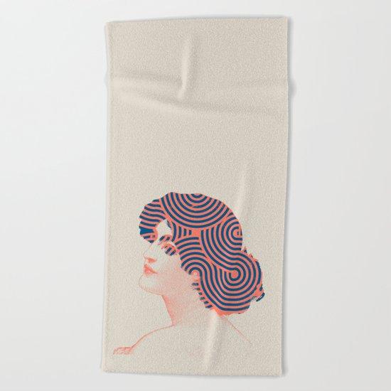 Hair Beach Towel