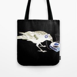 Ravens Like Music Too Tote Bag