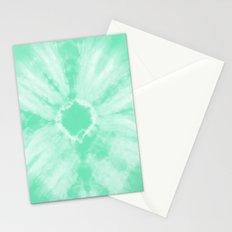 Tie Dye Mint Stationery Cards