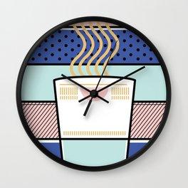 I love cup noodles Wall Clock