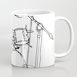 Drum Recording Coffee Mug
