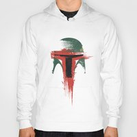 child Hoodies featuring Bounty Hunter by Victor Vercesi