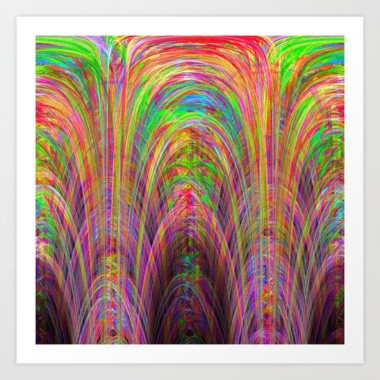 Digital Cathedral - Fractal Art Print