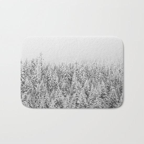 Frozen Winter Bath Mat