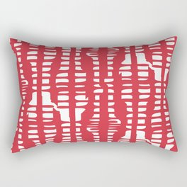 Redabstract Rectangular Pillow