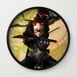 Oni Warrior Wall Clock