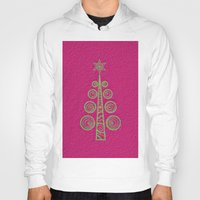 christmas tree Hoodies featuring Christmas Tree by Mr and Mrs Quirynen
