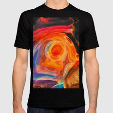 Blir Black MEDIUM Mens Fitted Tee