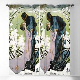 """Sleeping Beauty Awakens"" by Heinrich Lefler Blackout Curtain"